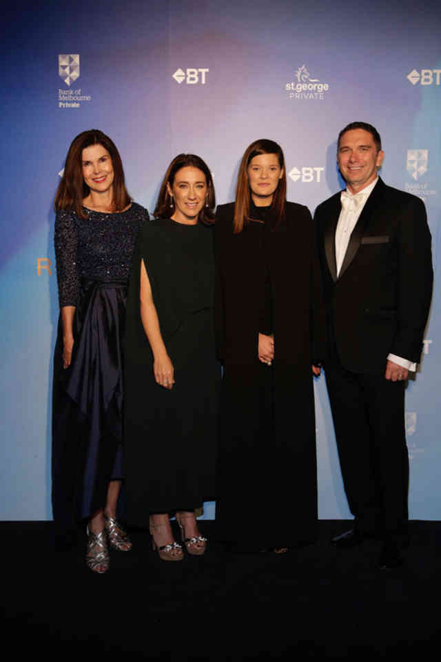 Jane Watts, Edwina McCann, Kacey Devlin, Brad Cooper at BT Runway for Success 2017