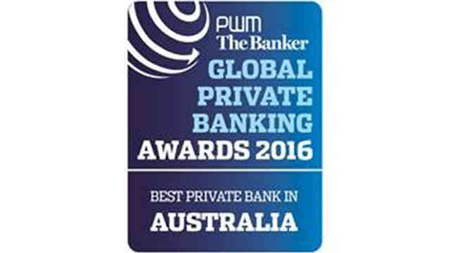 Global Private Banking Awards 2016 logo