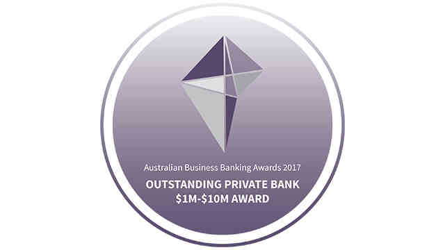 Australian Business Banking Awards 2017